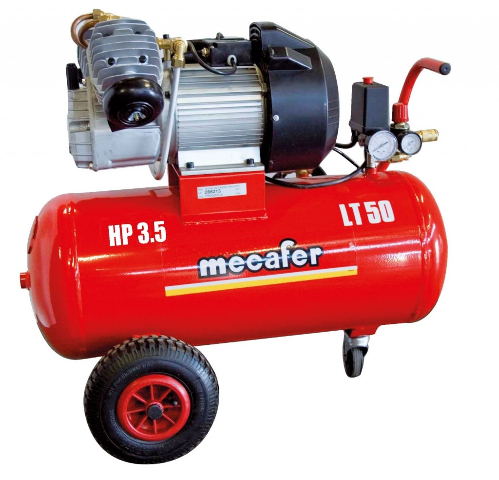test mecafer 50l 3 5hp coaxial v